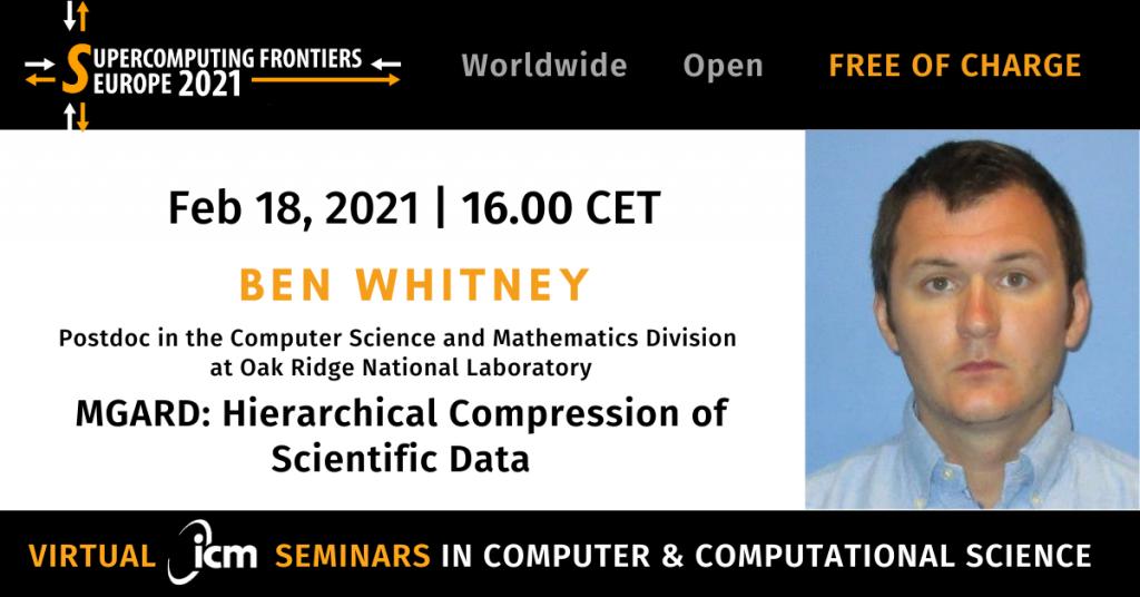 Virtual ICM Seminar with Ben Whitney