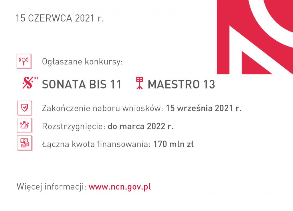 sonata bis11 maestro13 ogloszenie